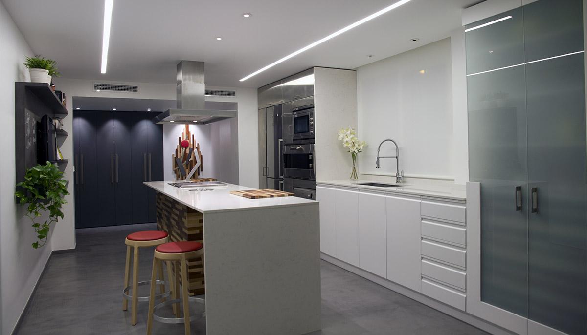 Dise o de interiores cocina mediterr nea nihil estudio - Diseno de interiores valencia ...