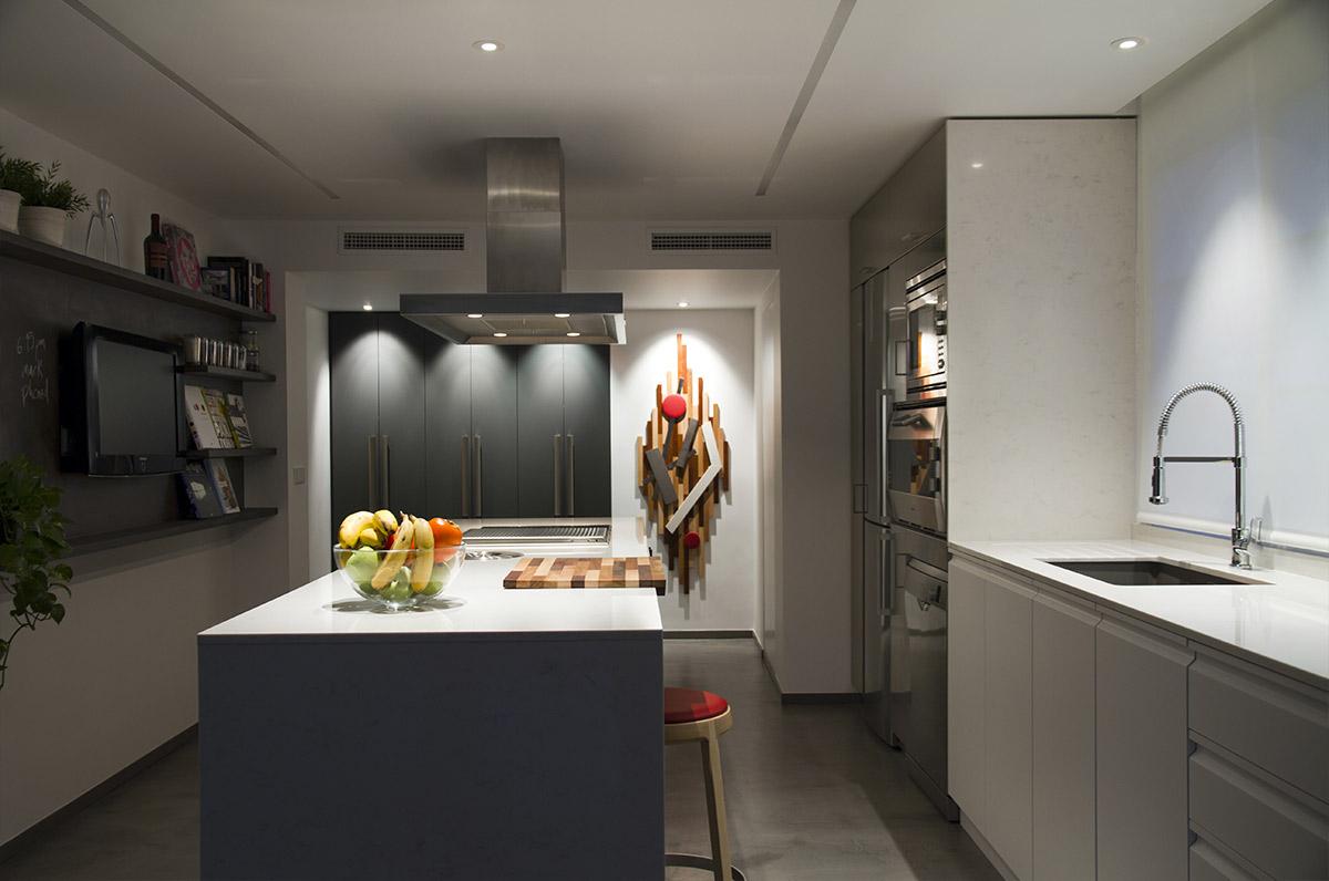 Dise o de interiores cocina mediterr nea nihil estudio for Diseno de interiores valencia